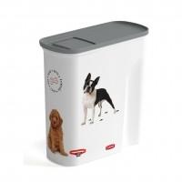 Conteneur à croquettes pour chien - Verseuse à croquettes Love Dogs Curver