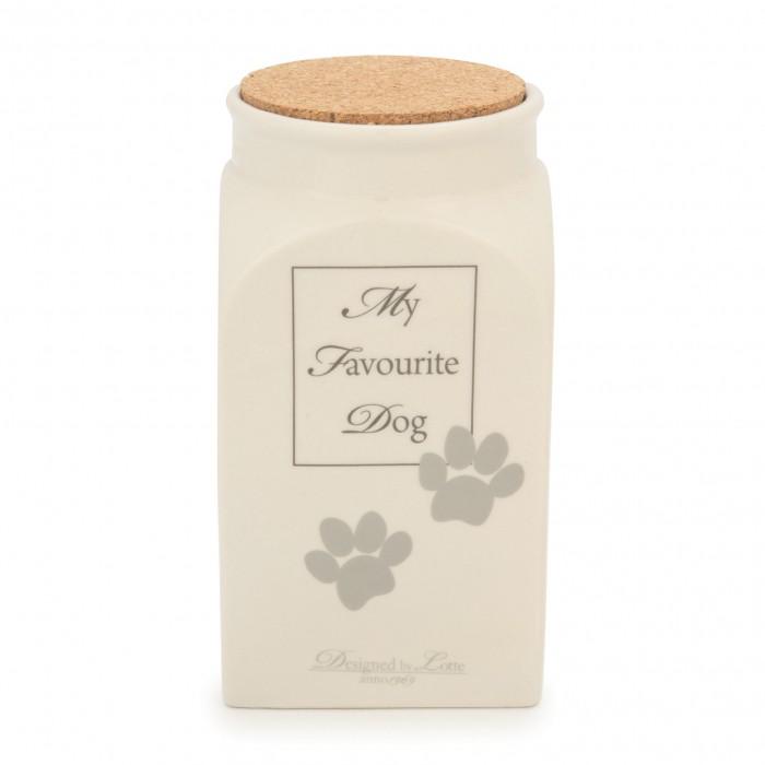 Gamelle et distributeur - Pot céramique My Favourite Dog pour chiens