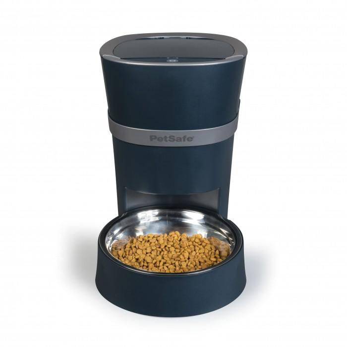 Gamelle, distributeur & fontaine - Distributeur connecté Smart Feed 12 repas pour chats