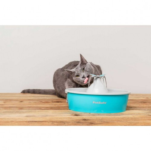Gamelle, distributeur & fontaine - Fontaine Drinkwell Butterfly 1,5L pour chats