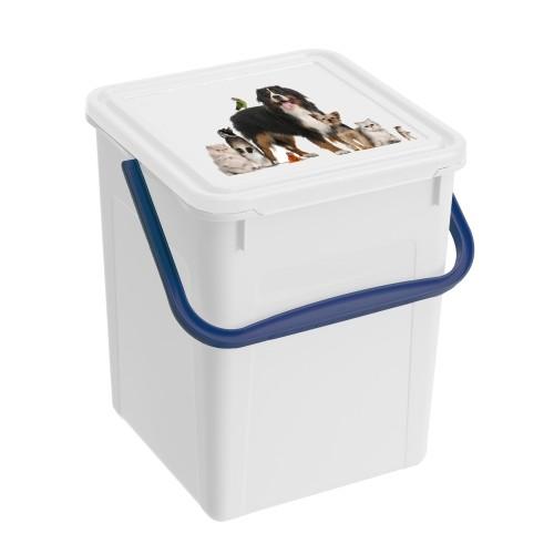 Gamelle, distributeur & fontaine - Boîte à croquettes Animal Pics pour chats