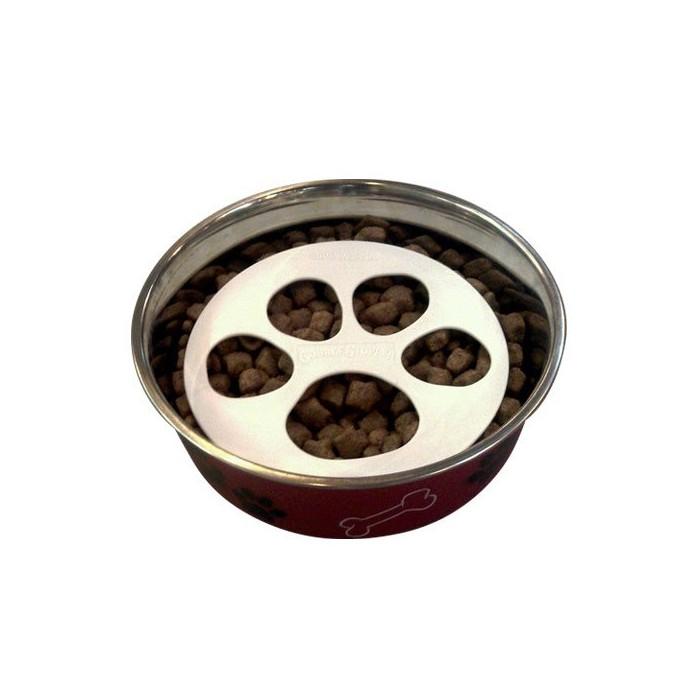 disque anti glouton gobble stopper accessoire repas pour chien wanimo. Black Bedroom Furniture Sets. Home Design Ideas
