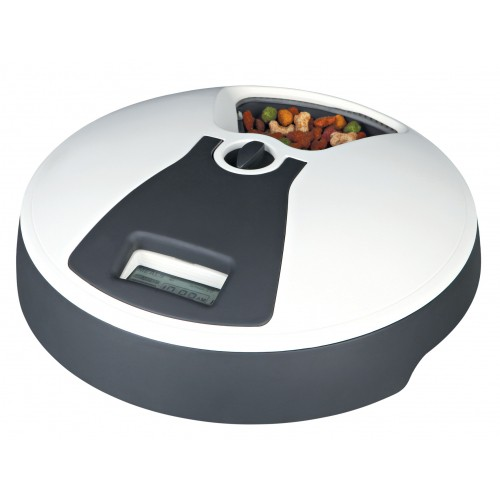 distributeur automatique de nourriture 6 repas accessoires repas pour chien et chat trixie. Black Bedroom Furniture Sets. Home Design Ideas