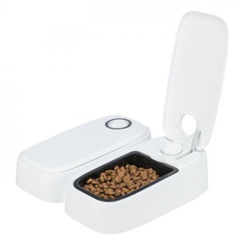 Gamelle, distributeur & fontaine - Distributeur réfrigérant d'aliments pour chats