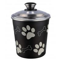 Accessoires repas pour chien et chat - Pot en acier Paw Bones Trixie