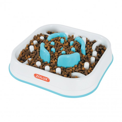 Gamelle et distributeur - Gamelle anti-glouton Slow Feeder pour chiens