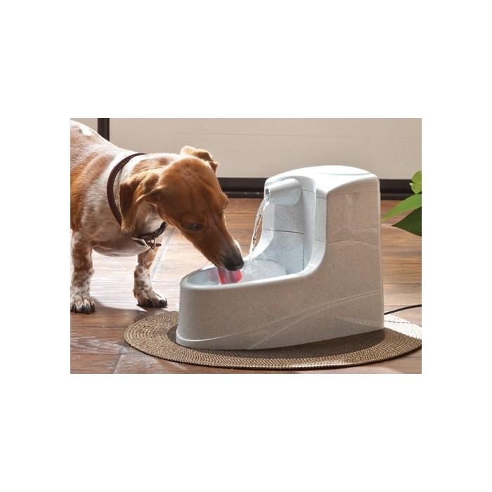 Gamelle et distributeur - Fontaine Drinkwell Mini 1.2L pour chiens