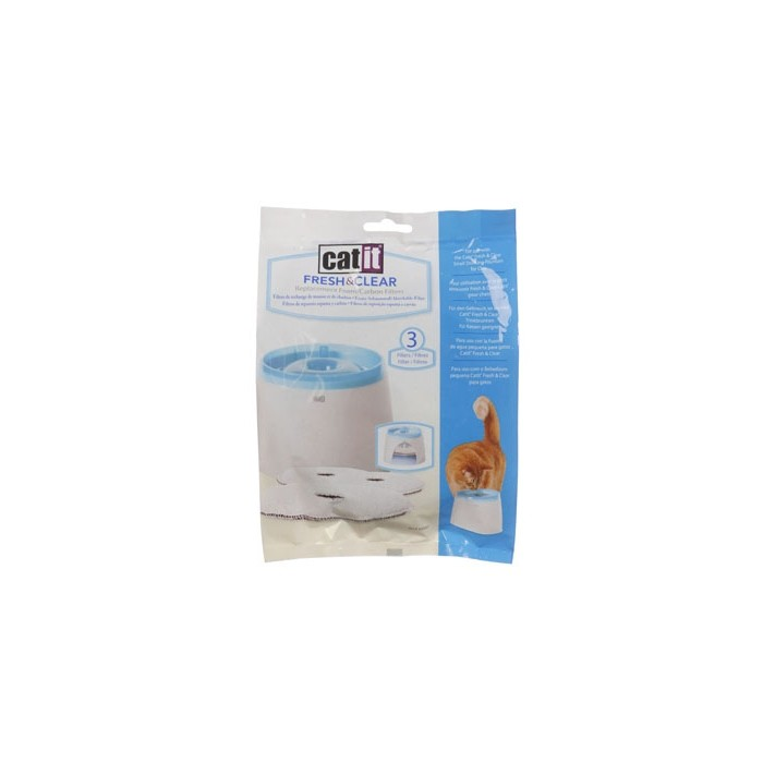 Gamelle, distributeur & fontaine - Fontaine Fresh & Clear 2L pour chats