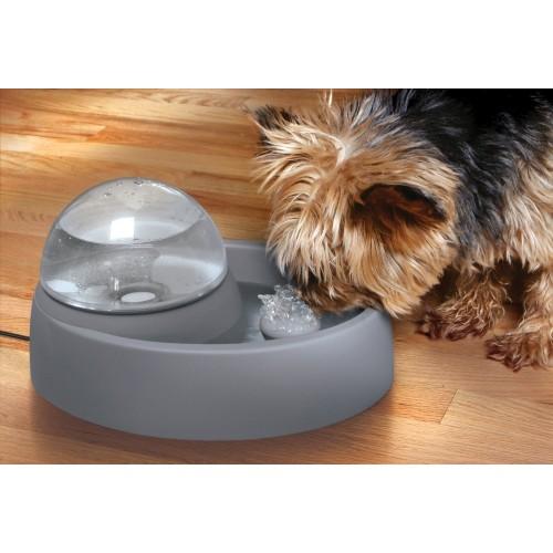Gamelle et distributeur - Fontaine d'intérieur Dôme 1.5L pour chiens