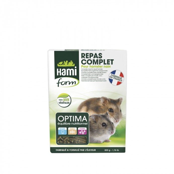 Aliment pour rongeur - Optima Hamster Nain pour rongeurs