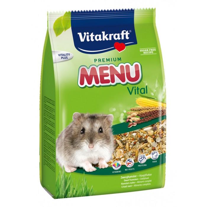 Aliment pour rongeur - Menu Premium Hamster nain  pour rongeurs