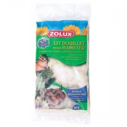 Hamster - Lit douillet  pour rongeurs