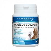 Hygiène bucco-dentaire - Dentifrice à croquer Francodex