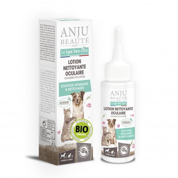 Hygiène dentaire, soin du chien - Lotion nettoyante oculaire pour chiens
