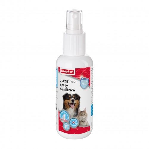 Hygiène dentaire, soin du chien - Spray dentifrice Buccafresh pour chiens