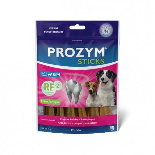 Hygiène dentaire, soin du chien - Prozym sticks RF2 pour chiens