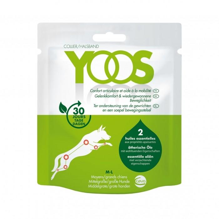 Hygiène dentaire, soin du chien - Collier Yoos pour le confort articulaire pour chiens
