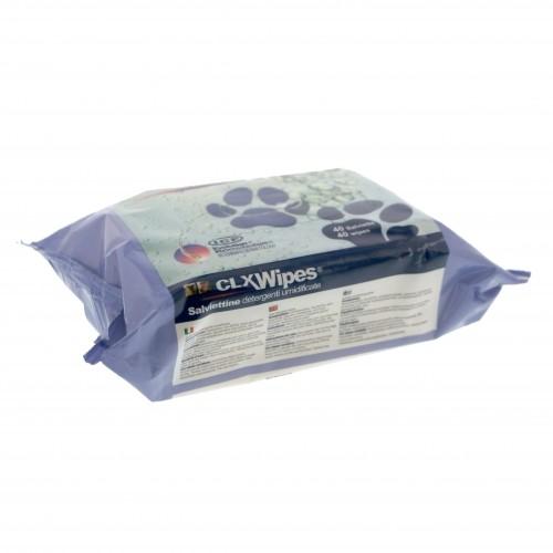 Soin et hygiène du chat - CLX Wipes - Lingettes nettoyantes humides pour chats