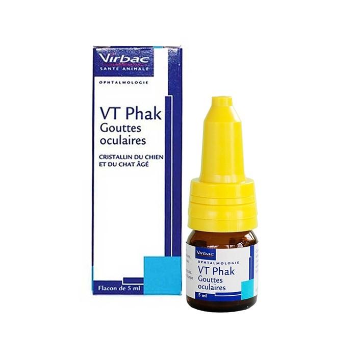Hygiène dentaire, soin du chien - VT Phak gouttes oculaires pour chiens