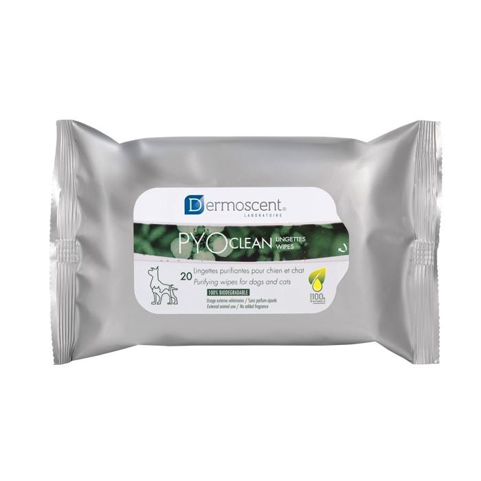 Hygiène dentaire, soin du chien - PYOclean® Lingettes purifiantes pour chiens