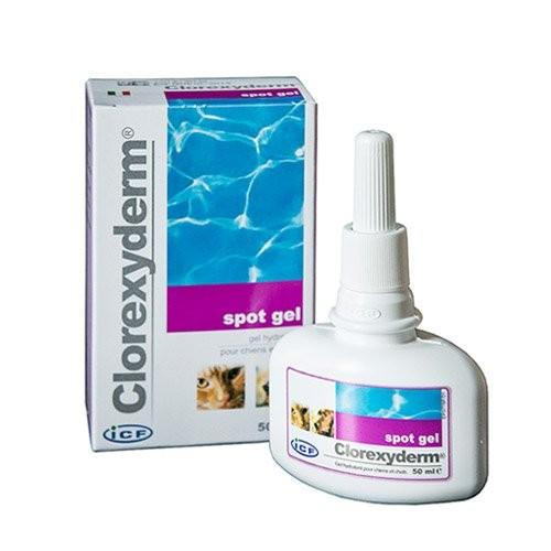 Hygiène dentaire, soin du chien - Clorexyderm Spot Gel pour chiens