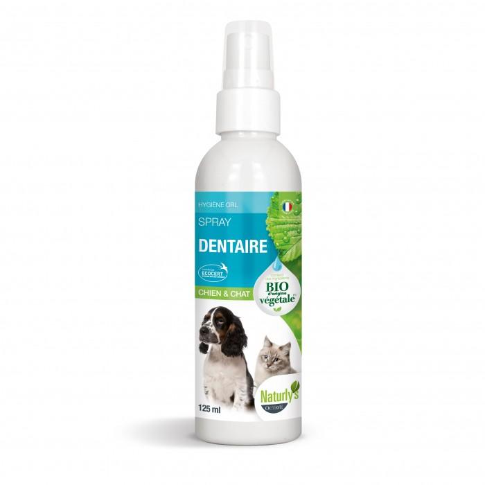 Hygiène dentaire, soin du chien - Lotion dentaire Bio pour chiens