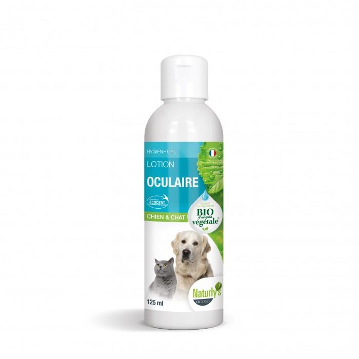 Hygiène dentaire, soin du chien - Lotion oculaire Bio pour chiens