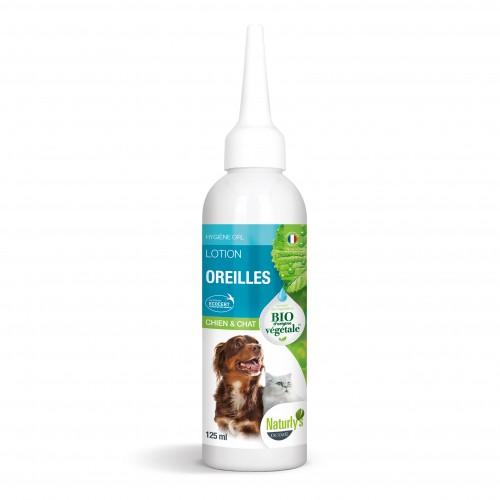 Hygiène dentaire, soin du chien - Lotion oreilles Bio pour chiens