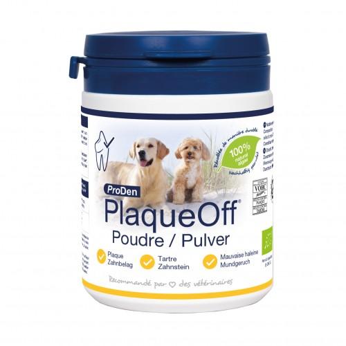 Hygiène dentaire, soin du chien - PlaqueOff chiens et chats pour chiens