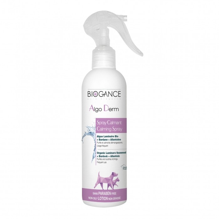 Hygiène dentaire, soin du chien - Spray Algo Derm pour chiens