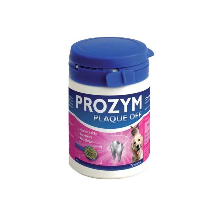 Hygiène dentaire, soin du chien - Prozym Plaque Off poudre  pour chiens