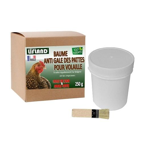 Hygiène et soin de la poule - Baume anti gale des pattes pour poules