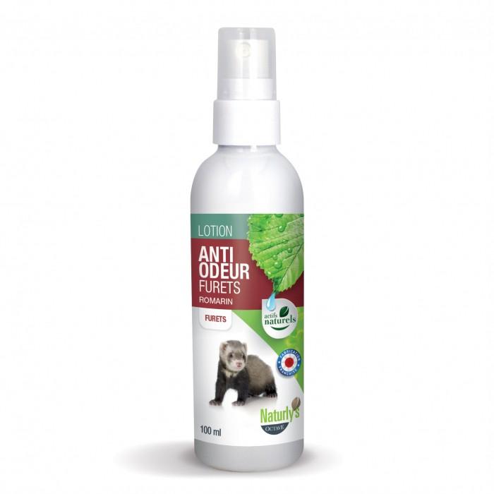 Hygiène et soin du furet - Lotion anti-odeur Furets pour furets