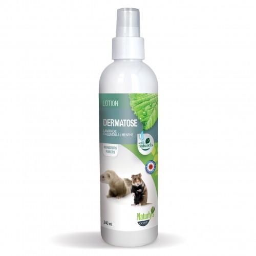 Hygiène et soin du rongeur - Lotion dermatose pour rongeurs