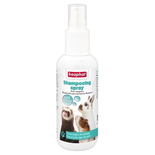 Hygiène et soin du rongeur - Shampooing sans rinçage pour rongeurs et autres petits mammifères pour rongeurs