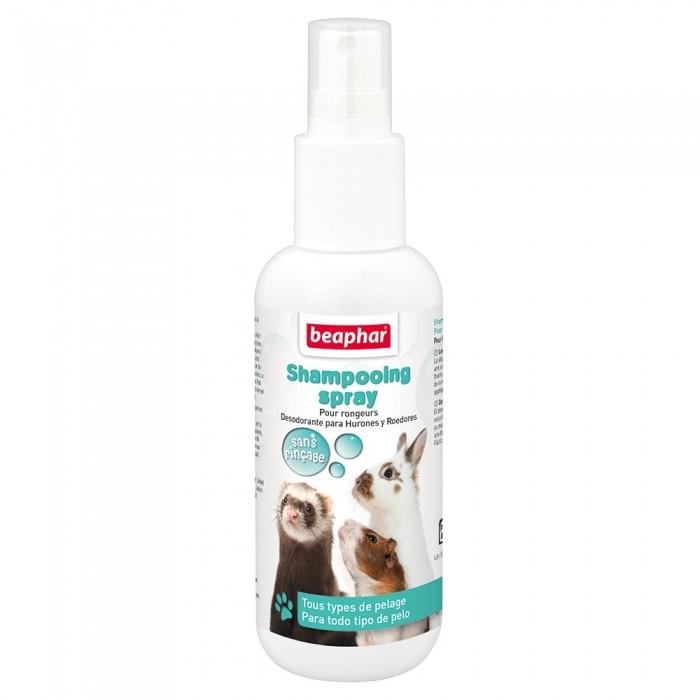 Hygiène et soin du furet - Shampooing sans rinçage pour petits mammifères pour furets
