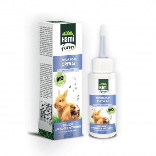 Hygiène et soin du rongeur - Lotion Soin Oreilles Bio pour rongeurs