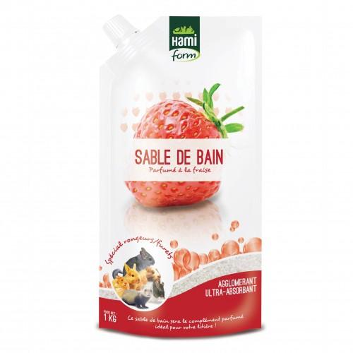 Hygiène et soin du furet - Sable de bain parfumé pour furets