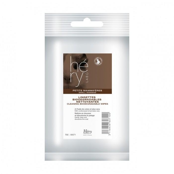 Hygiène et soin du furet - Lingettes nettoyantes pour rongeurs et furets pour furets