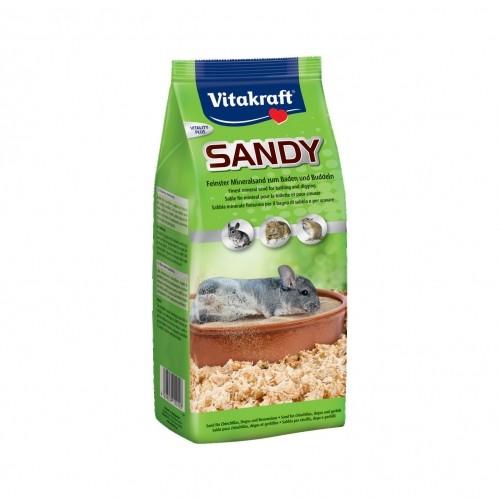 Hygiène et soin du rongeur - Sable Sandy  pour rongeurs