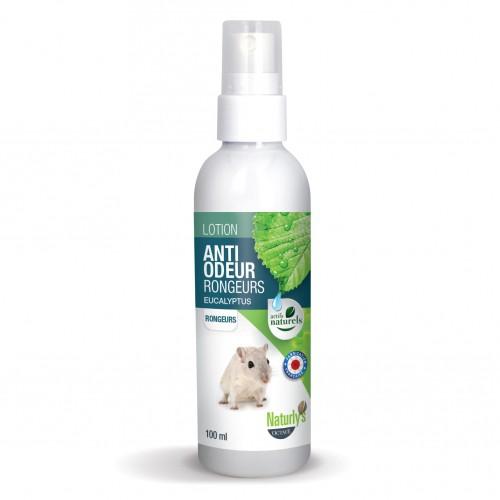 Bien-être au naturel - Lotion anti-odeur Rongeurs pour rongeurs