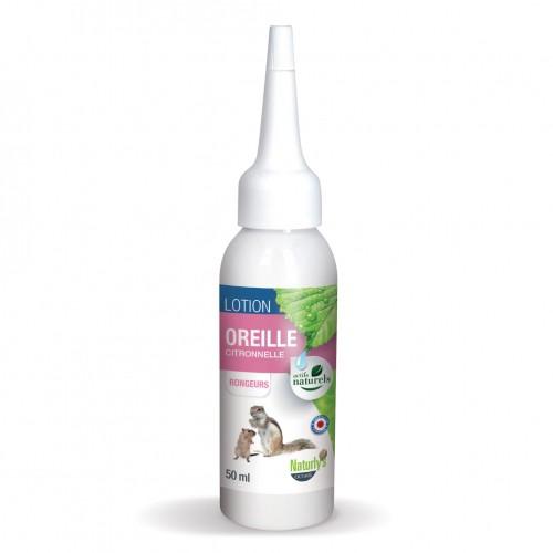 Hygiène et soin du rongeur - Lotion Oreille pour rongeurs