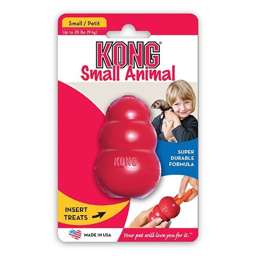 Jouet pour rongeur - Small Animal KONG - Jouet à mâcher pour rongeur et furet pour rongeurs