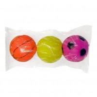 Balle pour chat - Lot de 3 balles vinyle Aimé