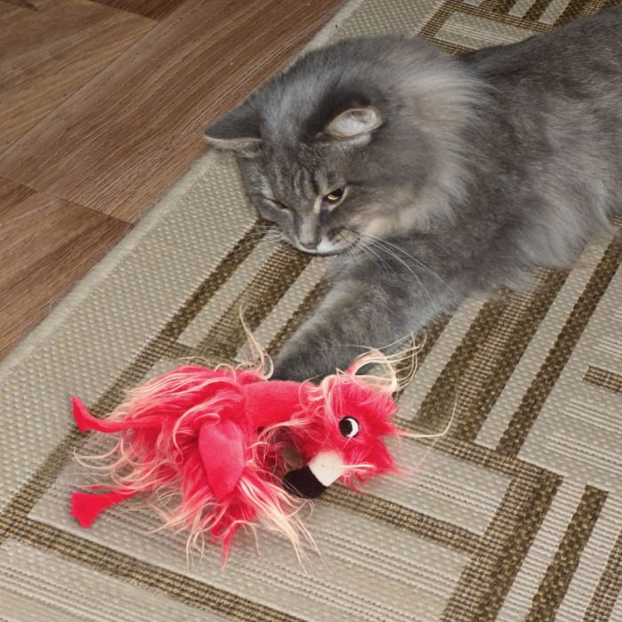 Jouet pour chat - Peluche Softies Frizz Bird KONG pour chats