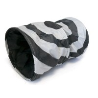 Tunnel de jeu pour chat, lapin et furet - Tunnel Crunch en nylon Trixie