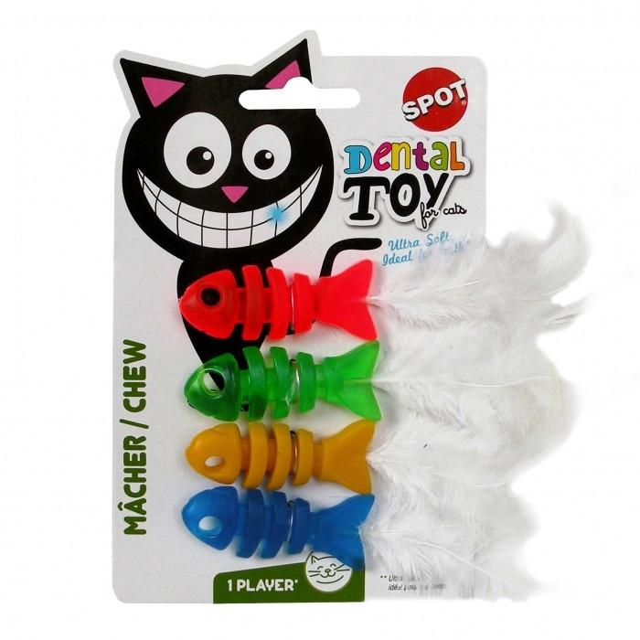 Jouet pour chat - Jouets Poisson Dental pour chats