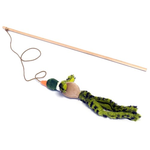 Image De Canne A Peche canne à pêche pour chat canard chanteur - cannes à pêche - / wanimo
