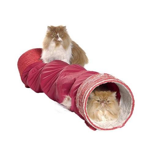 tunnel must en nylon tunnel de jeu pour chat bobby wanimo. Black Bedroom Furniture Sets. Home Design Ideas