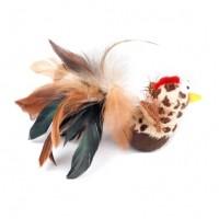 Jouet en plumes - Jouet oiseau culbuto en plumes